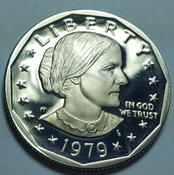 Anthony Dollar Brilliant Uncirculated 1981-S Proof Deep Cameo Type 1 Susan B