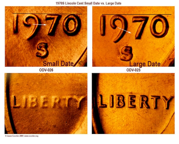 """highest /""""0/""""  1970-S small date BU Lincoln cent penny Business Strike"""