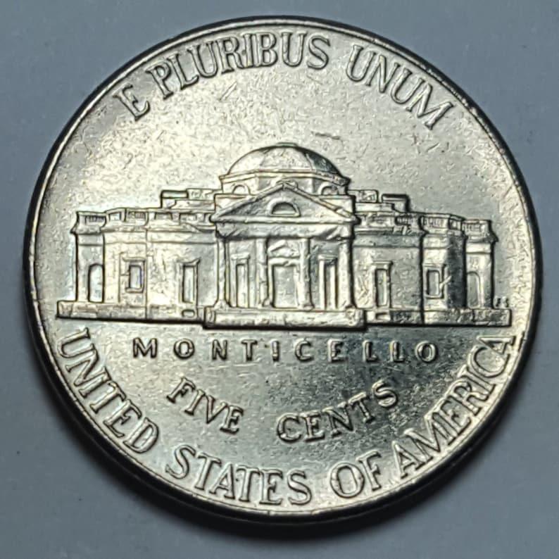 2006 D Jefferson Nickels Missing 6 Full Steps FS on Reverse Filled Die  Error Coin