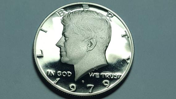 1976 Kennedy Clad Proof Half Dollar Bi-Centennial Deep Mirror Cameo *HG