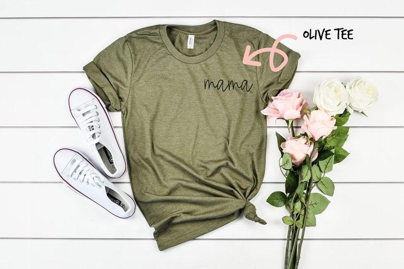 Mama Pocket Style Shirt  Mama Tshirt  Mother/'s Day Gift