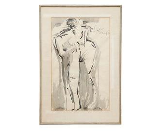 1961 'Standing Nude' by Elliott Barowitz