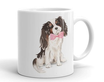 Tricolor Cavalier King Charles Spaniel mug | Cavalier coffee mug | Cavalier mom gift | Cavalier gifts | Christmas gift | gifts for her