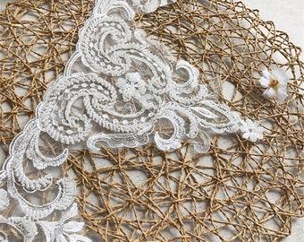 a7d65d548b Beaded lace trim | Etsy