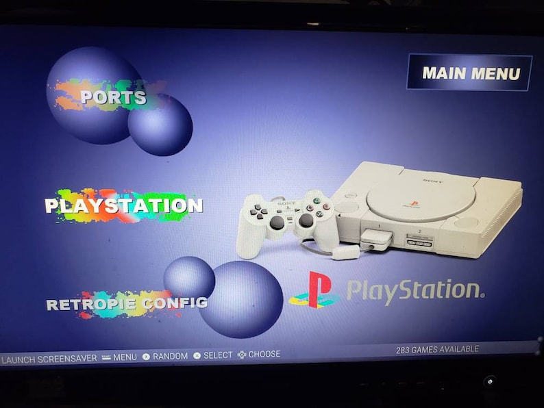 Playstation 1 for RetroPie  283 Great Games for Raspberry PI  PSX, PS1,  Free Shipping!!!