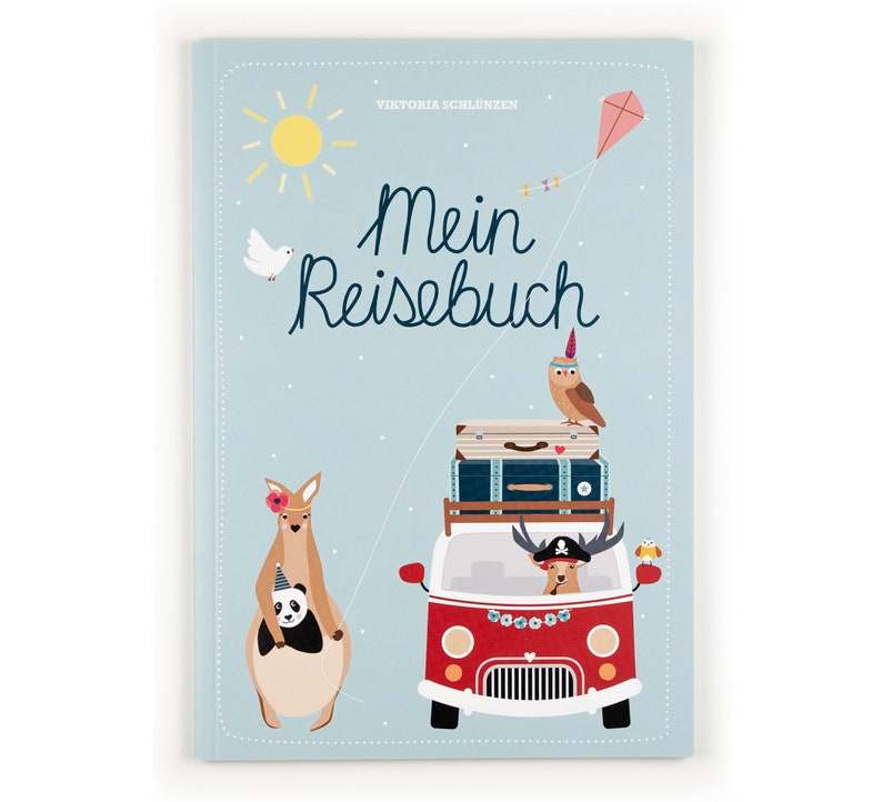 Travel book for children travel diary children holiday book image 0