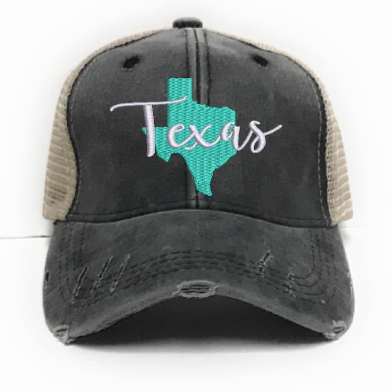 4092881f Texas State Trucker Hat - Custom Trucker Hat - Men - Women - Customized  Hats - Distressed - Baseball Cap - Funny Saying - Gift - Pride