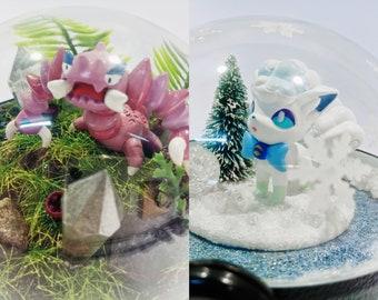 232933d7 Pokemon Terrarium Drapion / Alola Vulpix