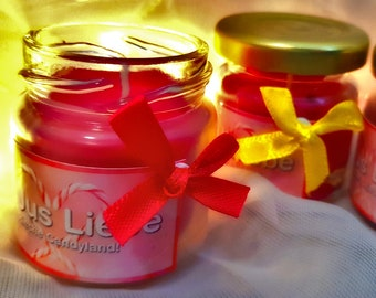 """Candle """"JuJus Love"""" - Jewellery candle with scent 