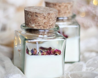 """Candle """"Silent Garden"""" - Jewellery candle with scent 