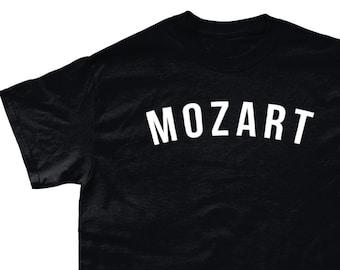 b4ff8c2ba024 Mozart Classical Music T-Shirt - Various Colours - Sizes Small - 5XL