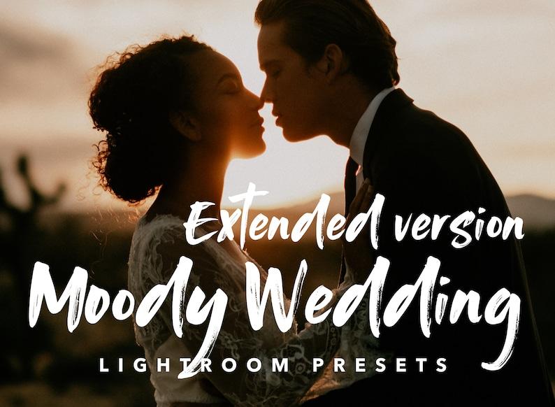 Moody Wedding 01 Extended Version   MOBILE /& DESKTOP VERSION  Warm and Moody Lightroom Preset  Muted Tones Preset