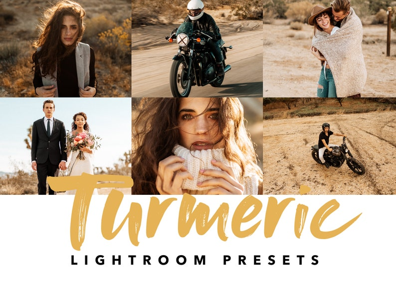 Turmeric Lightroom Preset for Lightroom CC & Lightroom Classic Desktop app,  warm and creamy preset, perfect preset for your Instagram feed