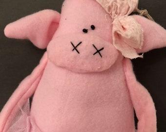 Ballett Schwein Etsy