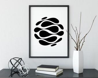 Geometric Printable Wall Art, Instant Download, Minimal Art, Minimal Home Decor, Abstract Art,Minimal Printable,Geometric Printable,Abstract