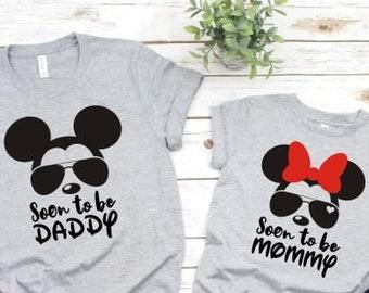 ab1ca283a5c Disney pregnancy announcement shirts