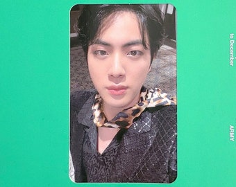 OFFICIAL Jin Photocard from the BTS Memories 2020 Blu-ray   comes with custom goodie bag   Only 1 available   Shop Fundraiser