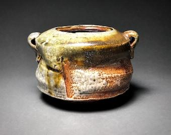 Ceramic Pot, Handmade Pottery, Soda Fired, Trinket Holder, Pencil Holder, Unique Gift