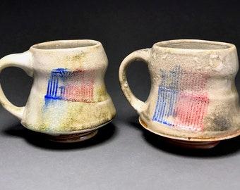 Large Coffee Mug, Handmade Mug, Ceramic Mug, Pottery Mug, Unique Gift
