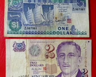 Singapur Münze Etsy