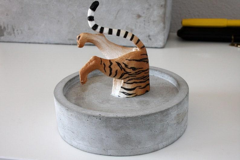 Antiquitäten & Kunst Entstehungszeit Nach 1945 Unter Der Voraussetzung Zwei Bilder Tiger Und Zebra Im Schwarzen Holzrahmen