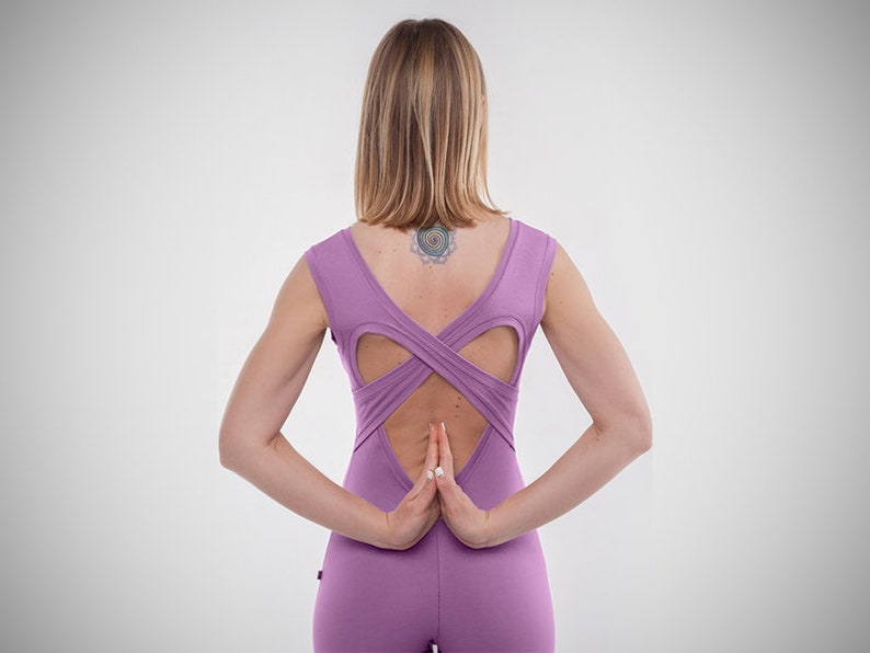 Yoga clothing Fitness suit Woman yoga suit Jumpsuit Catsuit Overall Activewear Yoga wear Bodysuit Pink yoga unitard Mitra