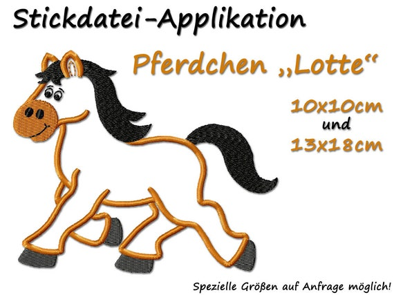Embroidery File Horse 2 Megapack