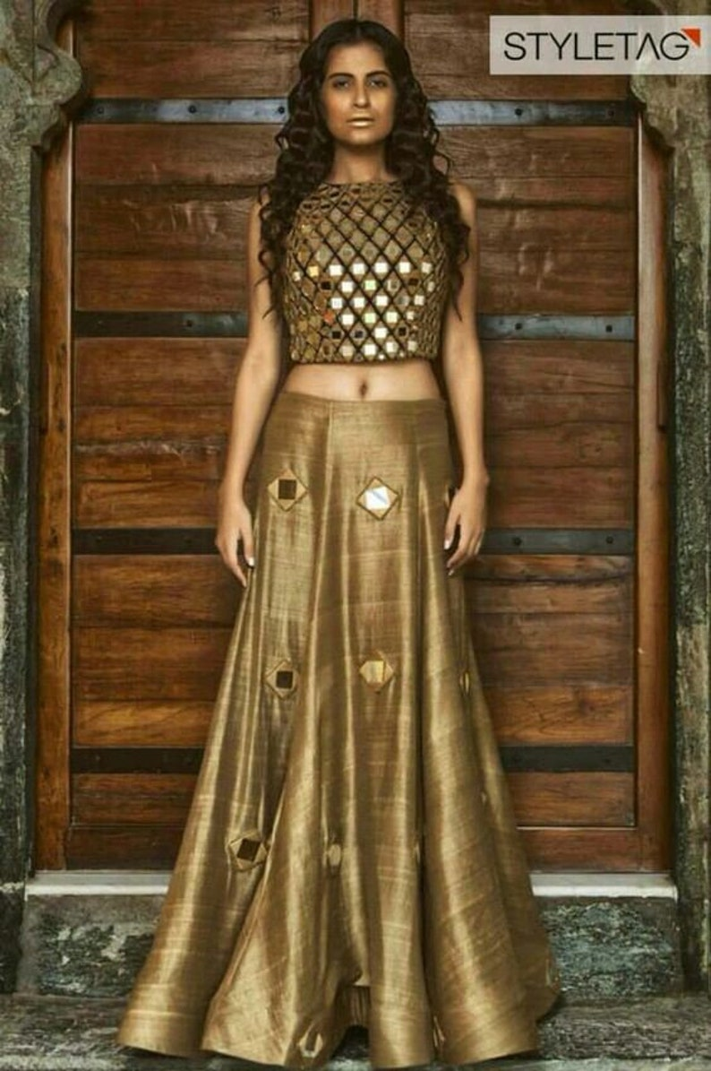 504a396f89 Simple Designer Bollywood Style Lehenga Choli-Navratri Chaniya | Etsy