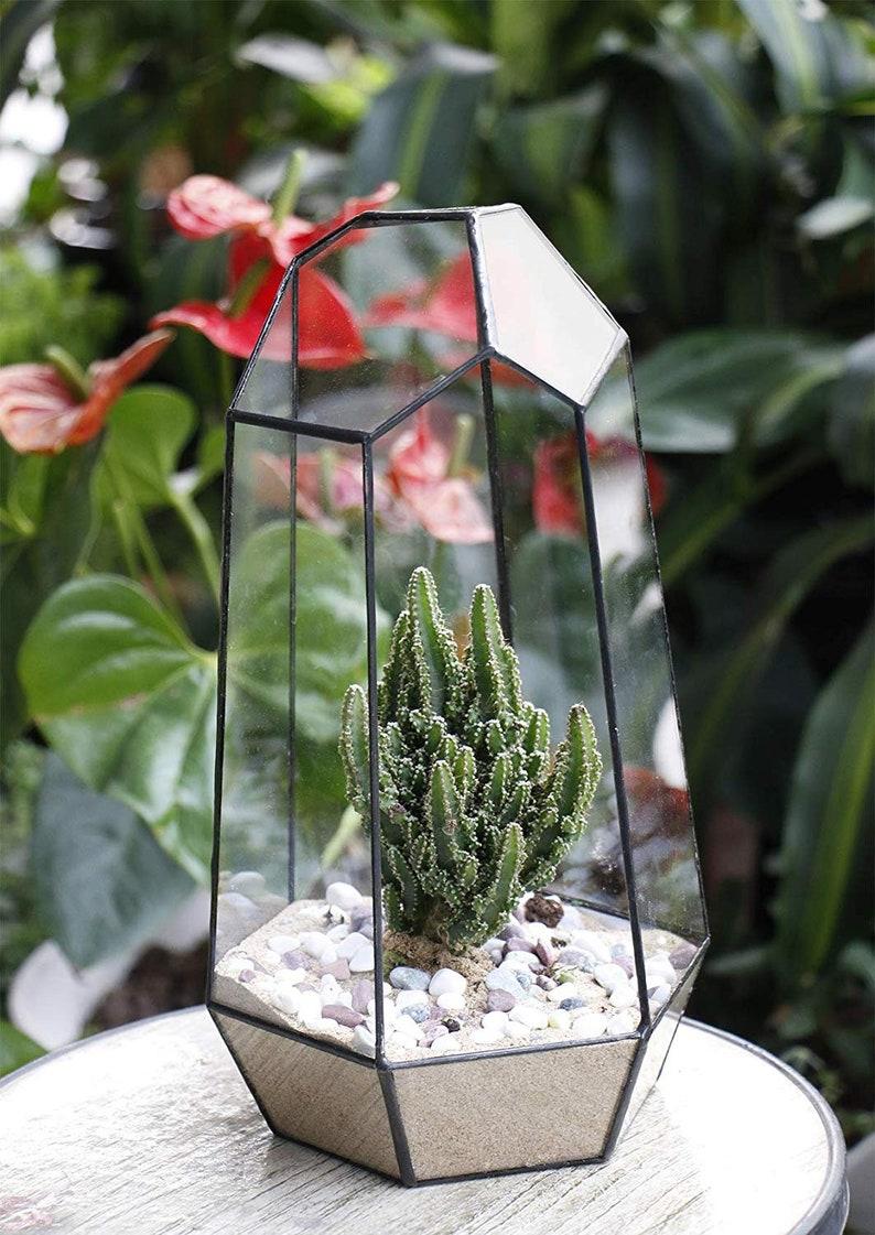 Large Geometric Terrarium Succulent Planter Terrariums Etsy