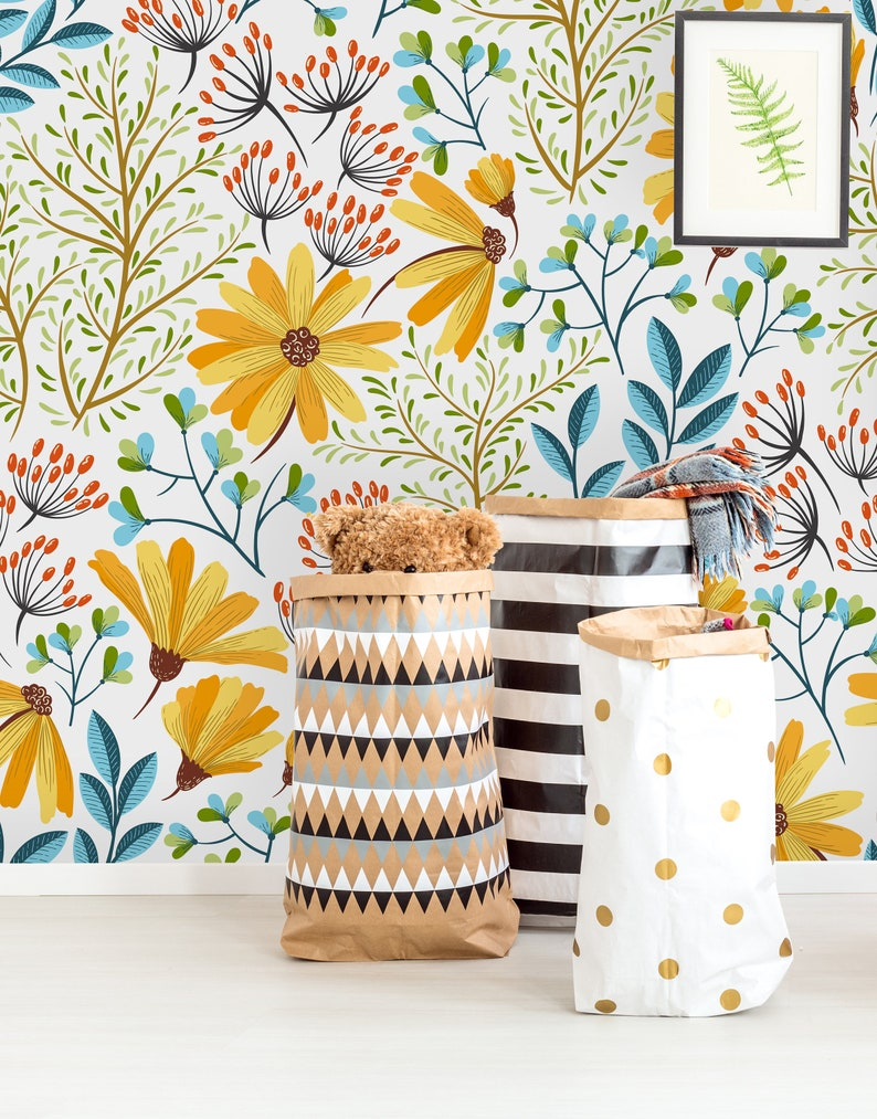 Removable Wallpaper Peel and Stick Wallpaper Self Adhesive image 1