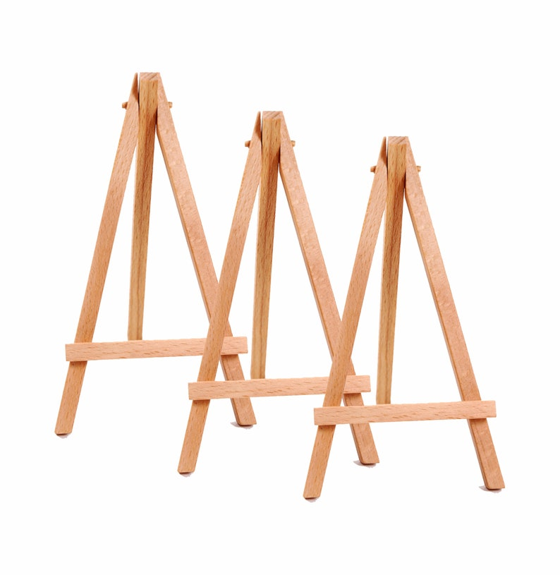 Decorative Easels For Weddings.Mini Wooden Easel Decorative For Wedding Table Numbers 3 Pack Wood Stand Party Table Numbers Rustic Wedding Display For Advertising Or Art