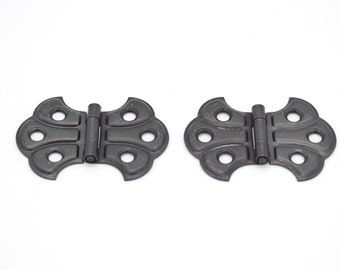 """4 FINISHES BUTTERFLY HINGE FULL SURFACE FLUSH HINGE SOLD IN PAIRS 2/""""W X 1 7//16/""""H"""