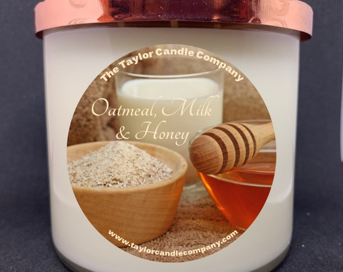 Oatmeal, Milk & Honey - Soy Candle