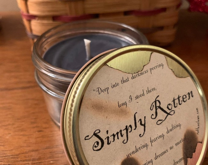 Simply Rotten Halloween Candle