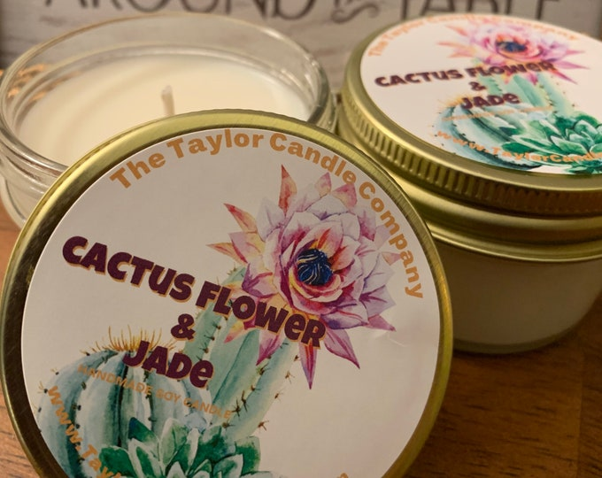 Cactus Flower & Jade - Soy Candle