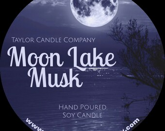 Moon Lake Musk  - Soy Candle
