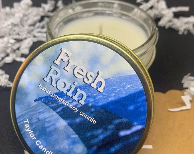 Fresh Rain - Soy Candle