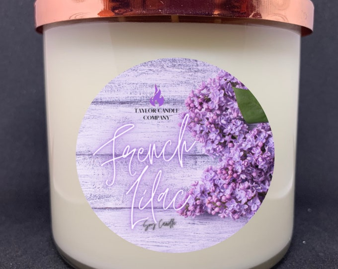 French Lilac - Soy Candle