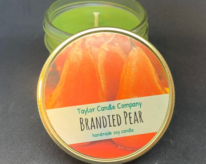 Brandied Pear Soy Candle