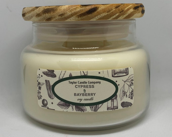 Cypress & Bayberry - Soy Candle