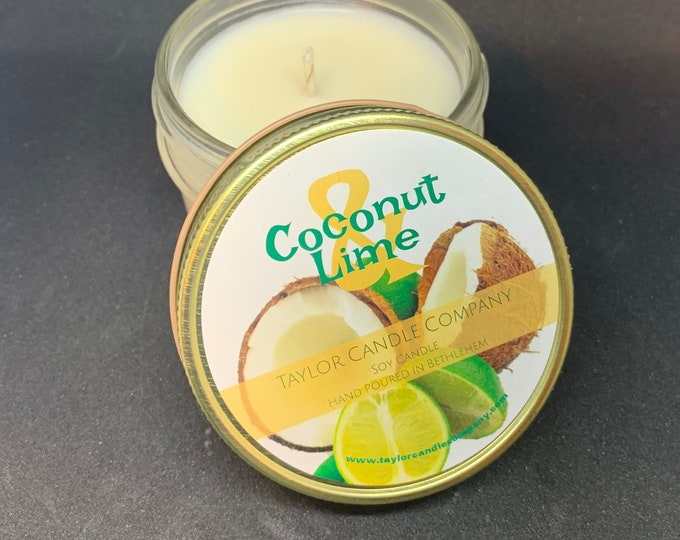 Coconut Lime - Soy Candle