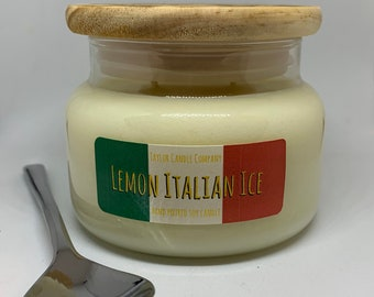 Lemon Italian Ice - Soy Candle