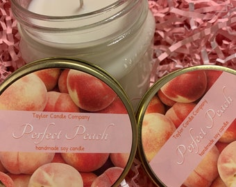 Perfect Peach - Soy Candle