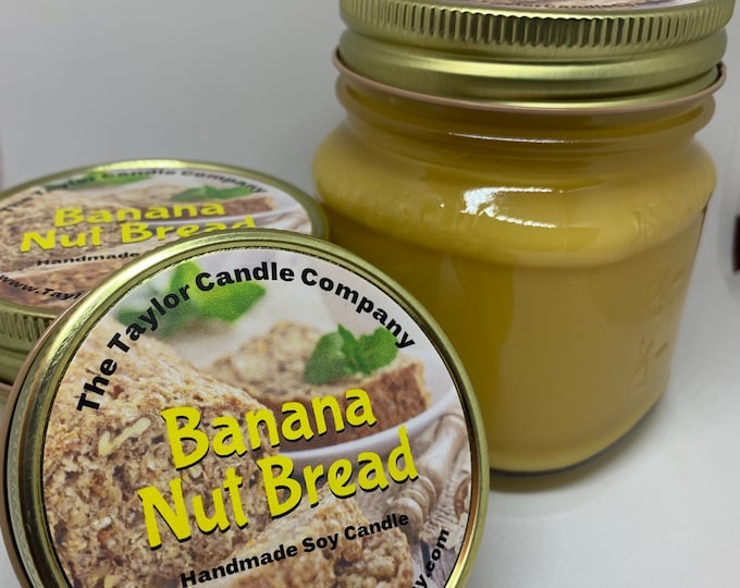 Banana Nut Bread - Soy Candle