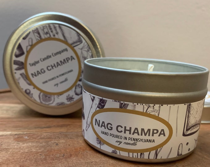 Nag Champa - Soy Candle