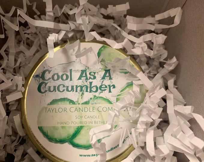 Cool As A Cucumber - Soy Candle