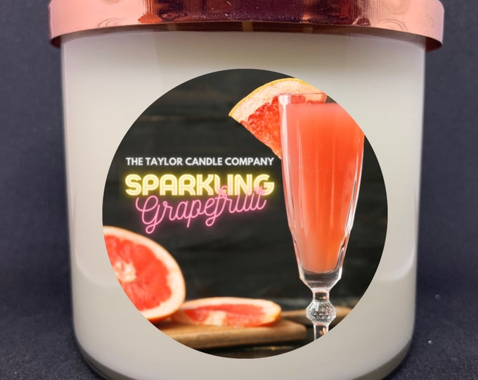 Sparkling Grapefruit - Soy Candle