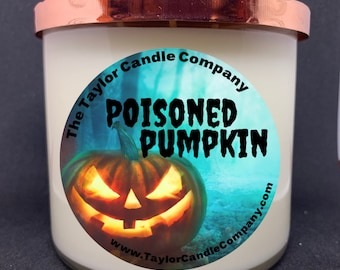 Poisoned Pumpkin Soy Candle