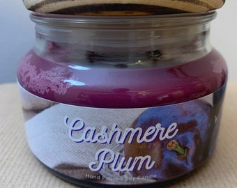 Cashmere Plum - Soy Candle