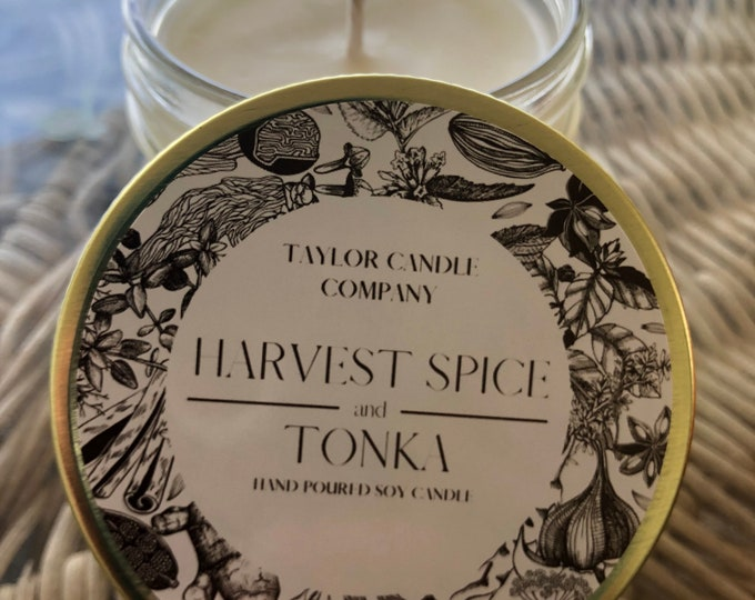 Harvest Spice & Tonka - Soy Candle